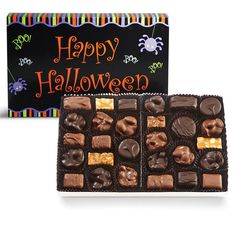 Happy Halloween Nuts & Chews   See's Candies Happy Halloween, Candy, See's Candies, Chocolate, Chocolates, Sweets, Candy Bars, Brown