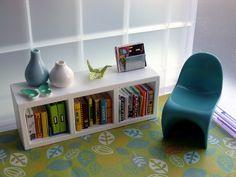 Little Reading Corner (dollhouse miniatures)