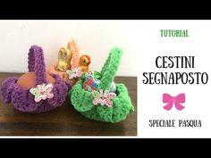 Speciale Pasqua - Cestini Segnaposto - YouTube