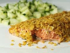 Chip Crusted Salmon by Macheesmo