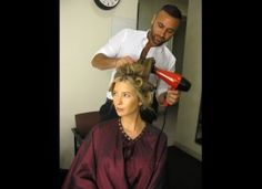 Getting gorgeous for our live All-Star Celebrity Apprentice finale! [Photo Credit: Tina Turnbow]