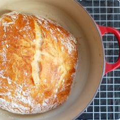 Bread Winner: This No-Knead Bread Will Rock Your World - adapted from Jim Lahey