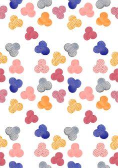 watercolour pattern   HELENA LESLIE