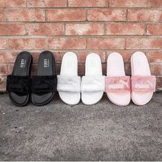 Chanel, Gucci, and Rihanna with her FENTYxPUMA Collection have all released  slides that are this Summer's go to sandal for fashionistas everywhere.