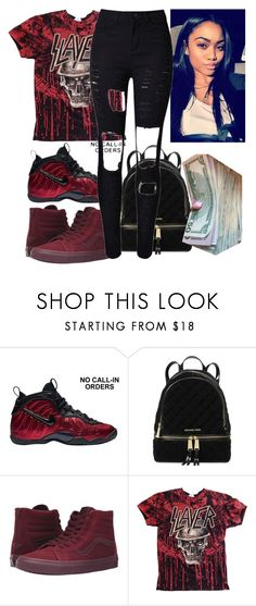 2/5/17 - Contest Entry #1 by idejamonet on Polyvore featuring WithChic, Vans, Michael Kors and NIKE