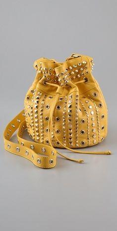 M Missoni Studded Pouchette Bag - StyleSays