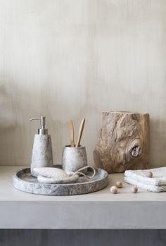 Pure nature... Aquanova Conor accessories for your bathroom