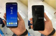 Front And Back Side Of The Galaxy S8 Leak Yet Again #Android #Google #news