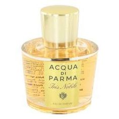 Acqua Di Parma Iris Nobile Eau De Parfum Spray (Tester) By Acqua Di Parma. Acqua Di Parma Iris Nobile Perfume by Acqua Di Parma, Acqua di parma iris nobile was launched by acqua di parma in 2010. This luxury fragrance in a limited edition contains the gentle nuances of several flowers. Most women will love the combination of bold and subtle aromas that are contained in this fragrance.