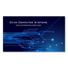 154 best computer repair business cards images on pinterest blue light circuits5 computer repair business card accmission Images