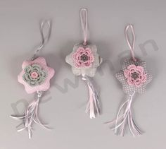Στολίδια υφασμάτινα λουλούδια!