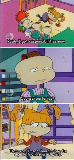 Rugrats speaking truth