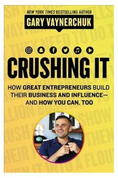 Crushing It | Crushing It! is a state-of-the-art guide to building your own path to professional and financial success, but it's not about getting rich. It's a blueprint to living life on your own terms. #ad #selfimprovement #success #socialmedia #celebratetheeveryday