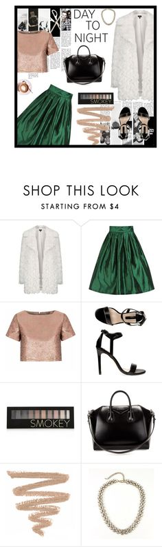 """Day to Night"" by angiegdurant on Polyvore featuring Topshop, Glamorous, Dorothy Perkins, Forever 21, Givenchy and Martha Stewart"