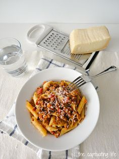Spicy Italian Sausage Penne