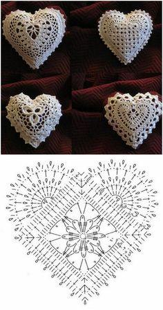 Crochet Patterns Christmas Photo only. No pattern - Salvabrani - SalvabraniAnges au crochet Plus - SalvabraniWedding Table Centerpiece Crochet Candle Holders by VasilisaSkaska - SalvabraniBeautiful eggs with crochet - SalvabraniBeautiful Crochet bell Appliques Au Crochet, Crochet Motifs, Crochet Squares, Thread Crochet, Crochet Crafts, Crochet Doilies, Crochet Flowers, Crochet Stitches, Crochet Projects