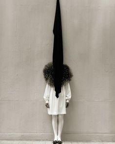 Leslie Weiner in Yohji Yamamoto by Albert Watson 1989 via totokaelo- amazing, art, photography