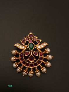 Jewelry Design Earrings, Gold Earrings Designs, Gold Jewellery Design, Necklace Designs, Pendant Jewelry, Gold Necklace Simple, Small Necklace, Gold Jewelry Simple, Ruby Pendant