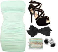 """night club outfit..."" by lindsey-doll ❤ liked on Polyvore"