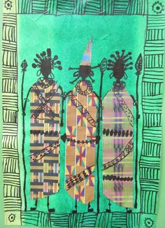 african art lessons elementary - Google Search                                                                                                                                                                                 More