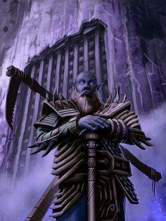 Duergar Gatekeeper for PaizoCon Wayfinder 9 by MichaelJaecks on deviantART
