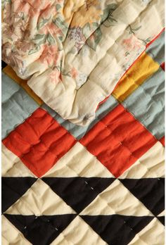 an incredible quilt - bold and bright or muted and tranquil, all at the turn of a hem