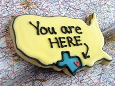 FUN...Great idea for your B&B location. A welcome gift on arrival. I have seen state cookie cutters.