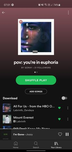 Euphoria (2019) HBO TV Series Euphoria Song, Hbo Tv Series, Song Suggestions, Good Vibe Songs, Spotify Playlist, Music Mix, Zendaya, Music Songs, Names