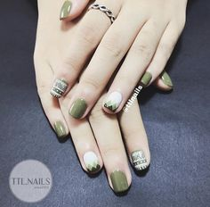 70 Ideas for nails art designs easy style Fruit Nail Designs, Nail Art Designs, Love Nails, Pretty Nails, Square Nail Designs, Tribal Nails, Nail Polish Art, Manicure And Pedicure, Pedicure Ideas