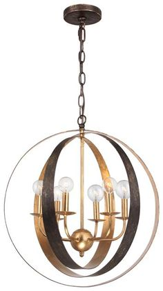Buy the Crystorama Lighting Group English Bronze / Antique Gold Direct. Shop for the Crystorama Lighting Group English Bronze / Antique Gold Luna 6 Light Wide Cage Chandelier and save. Industrial Chandelier, Candle Chandelier, Chandelier Ceiling Lights, Contemporary Chandelier, Chandelier Shades, Pendant Lighting, Light Pendant, Candelabra, Pendant Lamp