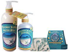 Ocean Bliss Tropical Trio #hawaiigift #giftbox #carepackage #hawaiiproducts