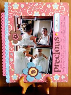 Scrapbooking Page Ideas Precious - Scrapbooking Ideas