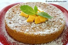 Eggless Mango Cake recipe |  Ingredients 1-1/2 cups all purpose flour 2 tsp baking powder 1/2 tsp salt 1 tsp cardamom powder 1-1/2 cups mango puree (I added +2 tbsp extra) -(see Tips) 1/3 cup canola oil (I reduced 2 tbsp since I added extra puree) 2/3 cup granulated sugar (I cut down about 2 tbsp since my mangoes were sweet) 1 tsp vanilla