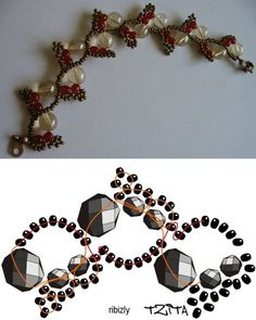 Fun Fall Bracelet ~ Free Pattern