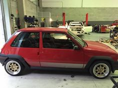Renault 5 GT Turbo PH1 red