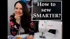 In this video I am sharing my 4 tips/steps for sewing smarter and not harder. These steps help me devote time for sewing and everything else I love and value. Sewing Patterns Free, Free Sewing, Make It Yourself, Thoughts, Ideas