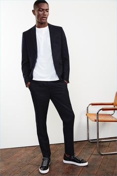 River Island Spring/Summer 2017 Men's Tailoring Campaign