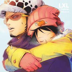 One Piece - Trafalgar Law x Monkey D. Luffy - LawLu