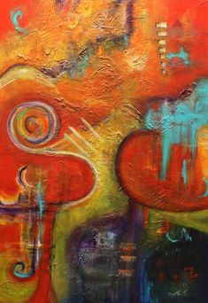 """abstract acrylic finishes 