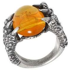 Vivienne Westwood Claw Cabochon Ring
