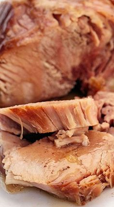 Slow-Cooked Ham in Cider Gravy, use arrowroot powder for thickening agent and grade a maple syrup