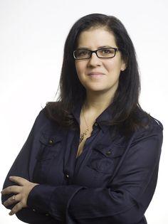 Sandra Fathi, speaker at BlogHer '13. ~Melisa