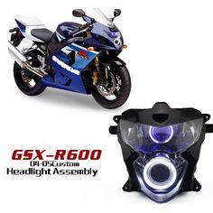Suzuki GSX-R600 2004-2005 motorcycle HID projector headlights.  http://www.ktmotorcycle.com/custom-headlights/suzuki-custom-headlights/suzuki-gsx-r600/suzuki-gsx-r600-2004-2005.html