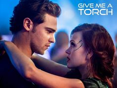 """Star-Crossed -- """"Give Me a Torch"""" -- Image Number: -- Pictured (L-R): Grey Damon as Grayson and Aimee Teegarden as Emery -- Photo: Skip Bolen/The CW -- © 2014 The CW Network, LLC. All rights reserved. Star Crossed, Series Movies, Tv Series, Brina Palencia, Aimee Teegarden, Falling Skies, Face Jewels, Matt Lanter, Perfect Smile"""