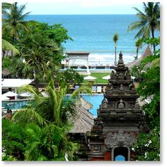 Bali staples: Temple and Beach