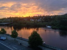 River Tay, Perth 3.55am. The shepherd's warning?