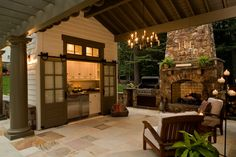 outdoor kitchen 1 13 Fresh Kitchen Trends in 2014 You Must See beautiful kitchens Outdoor Kitchen Design, Patio Design, House Design, Patio Kitchen, Door Design, Outdoor Rooms, Outdoor Dining, Outdoor Decor, Outdoor Kitchens