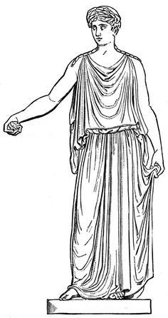 Greek dress concept