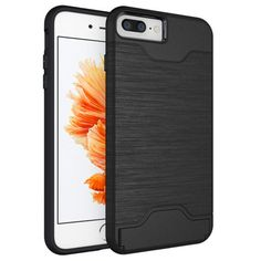 Hard Armor Case Cover for iPhone 7 plus w/Stand Card Holder Mobile Pho - INNOVATIVE PRODUCTS PORTAL - MyProductPortal.com