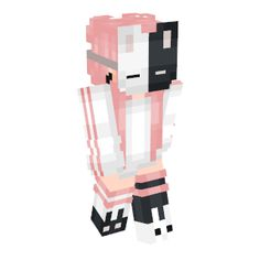 Minecraft Skins Hd, Minecraft Skins Kawaii, Minecraft Skins Female, Minecraft Cat, Minecraft Skins Aesthetic, Hama Beads Minecraft, Minecraft Houses, Perler Beads, Yandere Simulator Characters